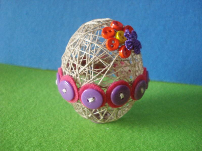 Пасхальное яйцо. Идеи поделок в форме яиц в разных техниках исполнения этап 41