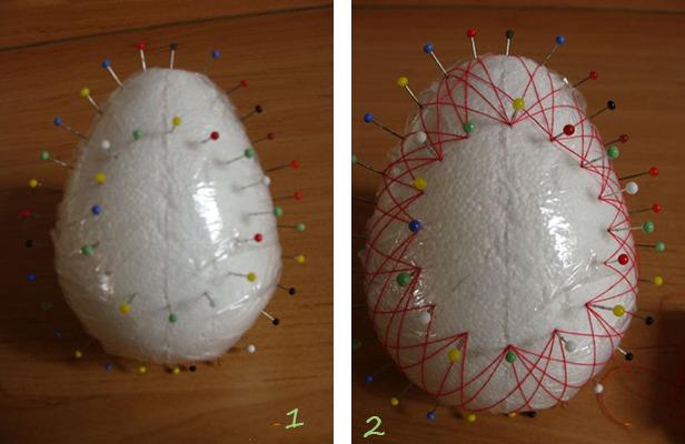 Пасхальное яйцо. Идеи поделок в форме яиц в разных техниках исполнения этап 43