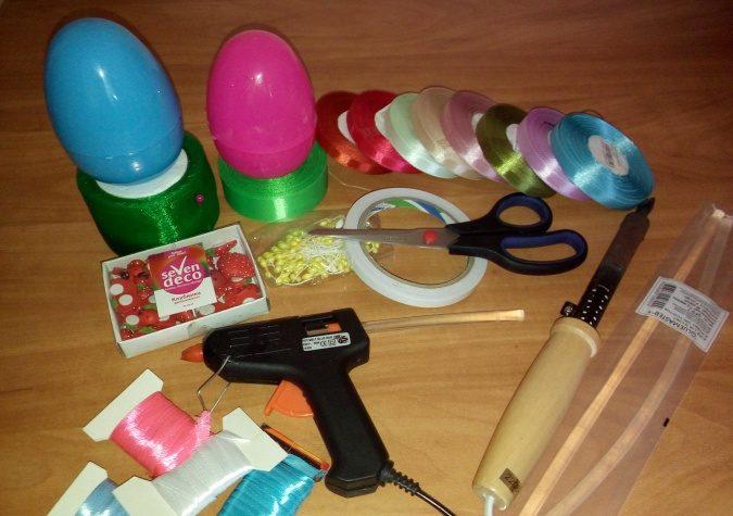 Пасхальное яйцо. Идеи поделок в форме яиц в разных техниках исполнения этап 3
