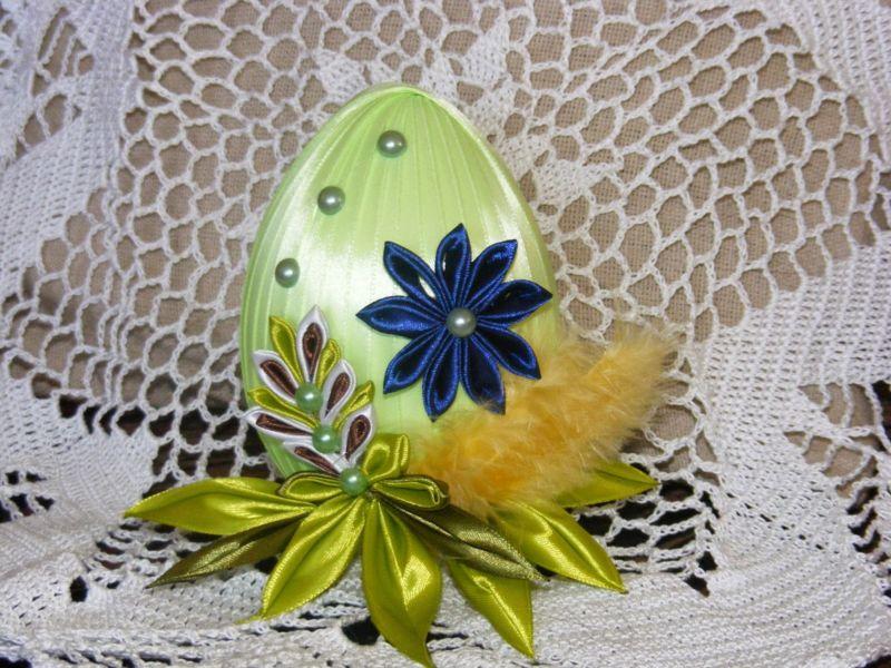 Пасхальное яйцо. Идеи поделок в форме яиц в разных техниках исполнения этап 13