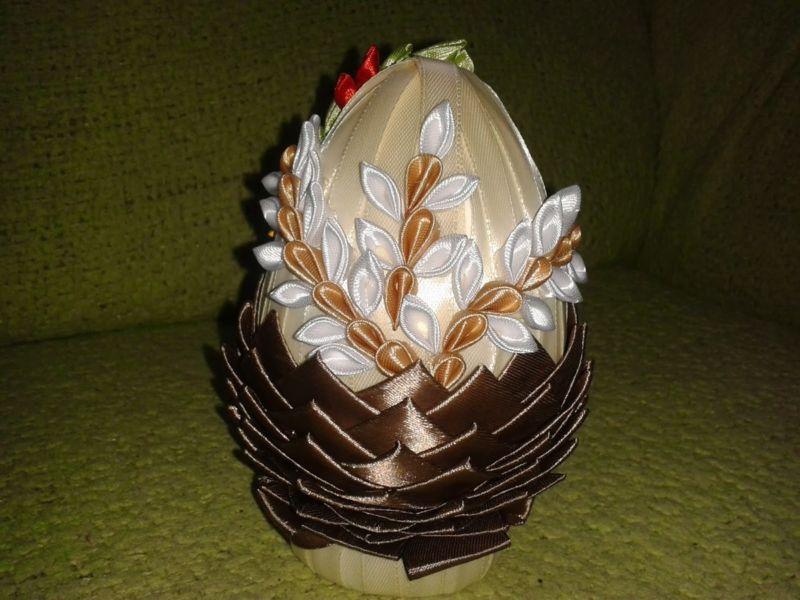 Пасхальное яйцо. Идеи поделок в форме яиц в разных техниках исполнения этап 16