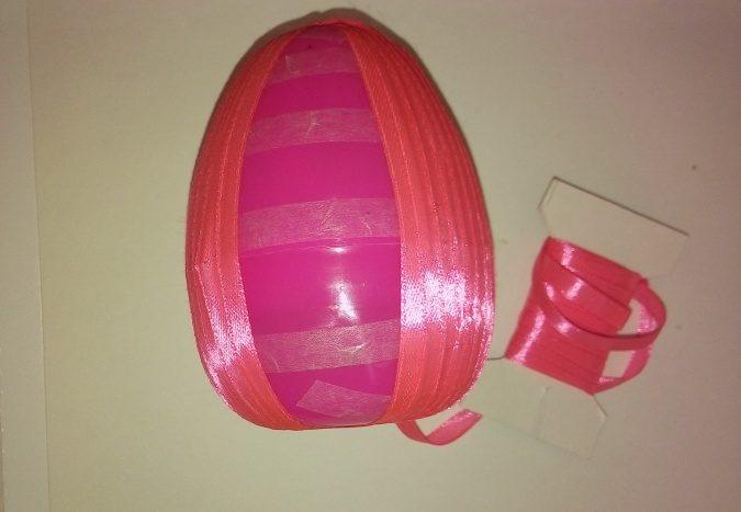 Пасхальное яйцо. Идеи поделок в форме яиц в разных техниках исполнения этап 5