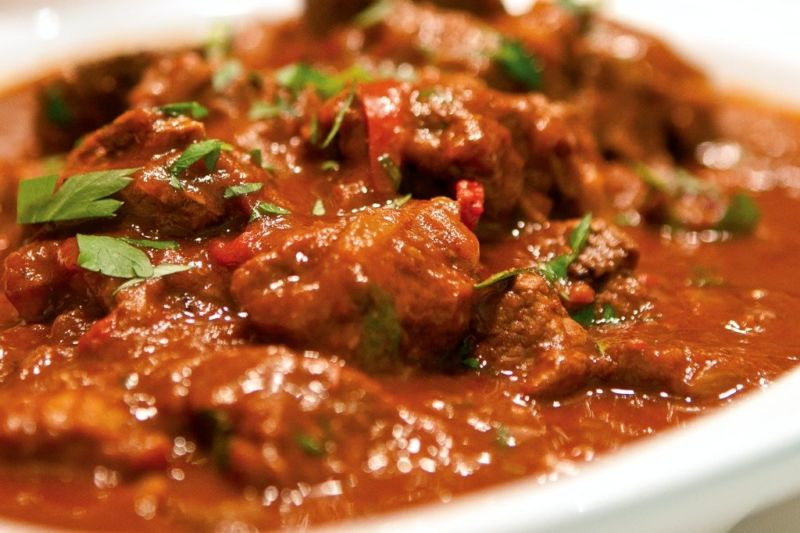 Гуляш из свинины с подливкой: простые и вкусные рецепты