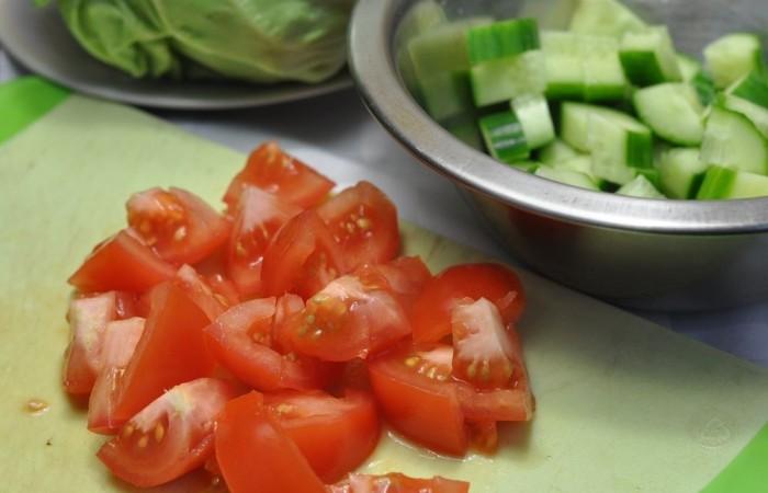 Салаты из свежей капусты — 9 очень вкусных рецептов этап 25