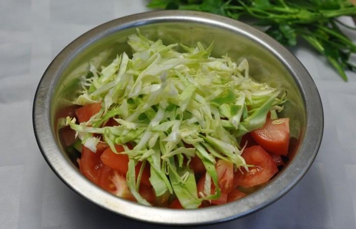 Салаты из свежей капусты — 9 очень вкусных рецептов этап 26