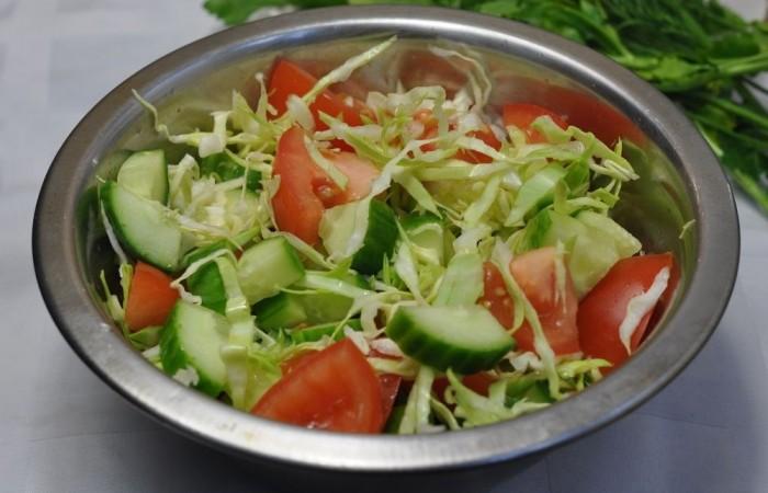 Салаты из свежей капусты — 9 очень вкусных рецептов этап 27