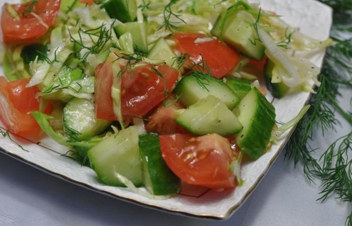 Салаты из свежей капусты — 9 очень вкусных рецептов этап 28