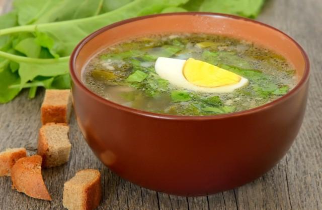 Щавелевый суп — 7 классических рецептов супа с яйцом