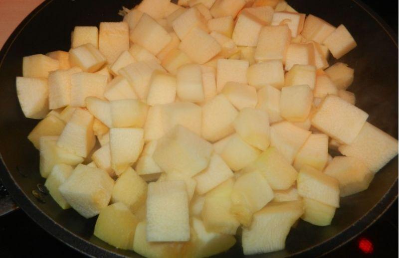 Кабачковая икра на зиму: лучшие рецепты приготовления этап 2