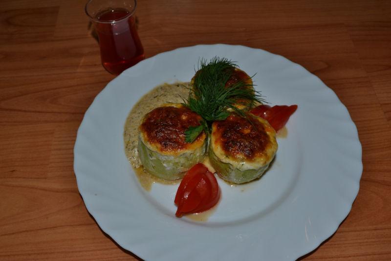 Кабачки в духовке — 8 быстрых и вкусных рецептов этап 12