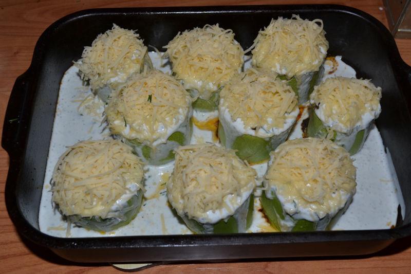 Кабачки в духовке — 8 быстрых и вкусных рецептов этап 22