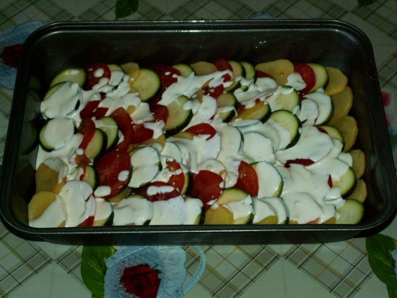 Кабачки в духовке — 8 быстрых и вкусных рецептов этап 32