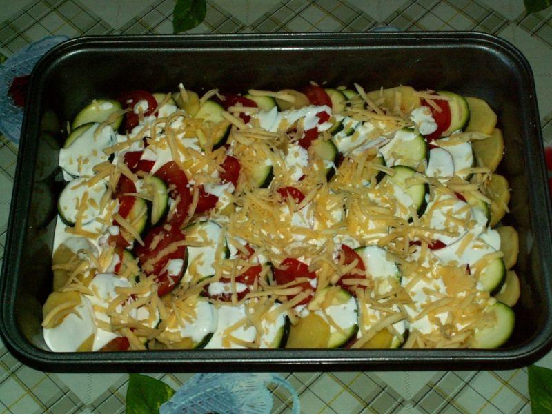 Кабачки в духовке — 8 быстрых и вкусных рецептов этап 33