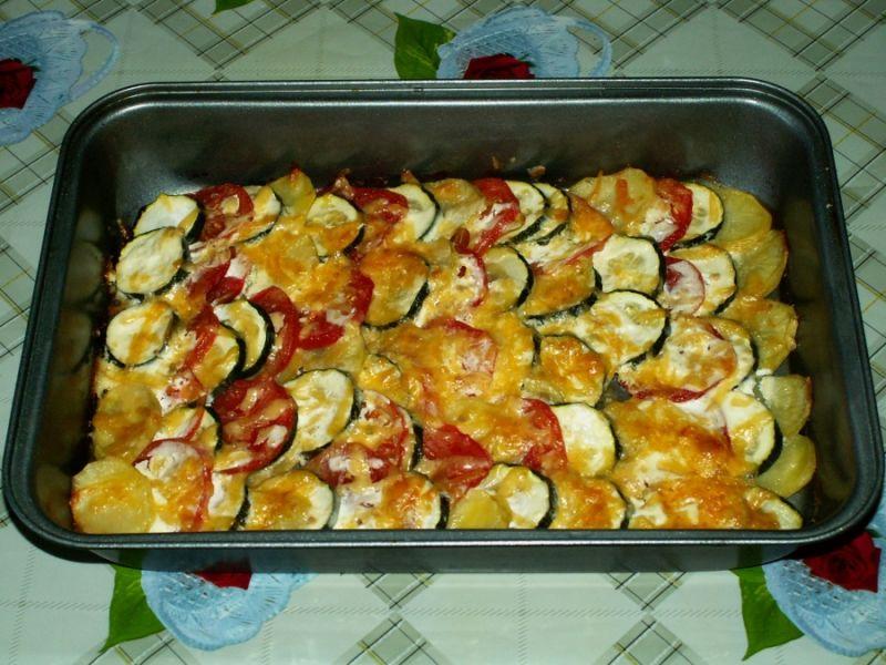Кабачки в духовке — 8 быстрых и вкусных рецептов этап 34