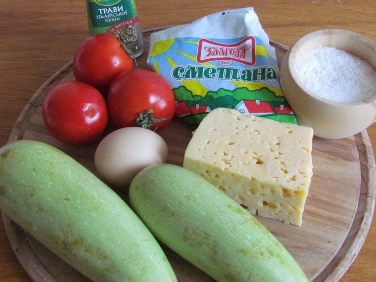 Кабачки в духовке — 8 быстрых и вкусных рецептов этап 2