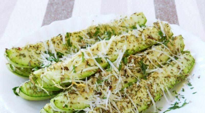 Кабачки в духовке — 8 быстрых и вкусных рецептов этап 28