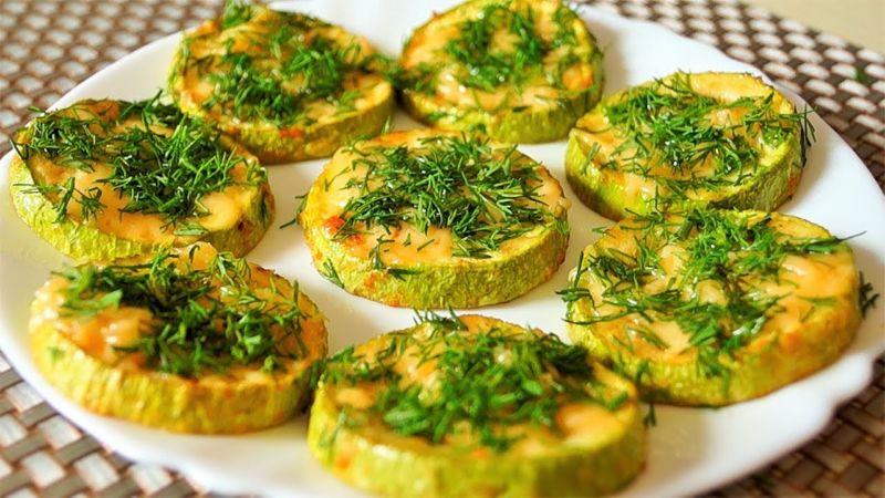 Кабачки в духовке — 8 быстрых и вкусных рецептов этап 1