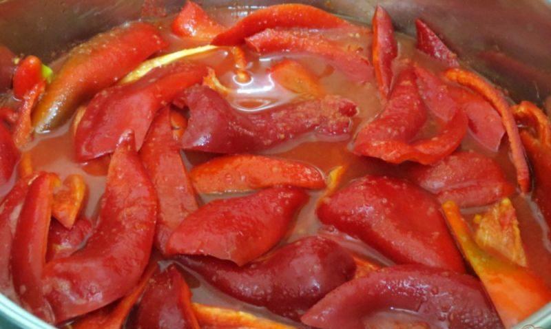 Лечо из болгарского перца на зиму по рецептам «Пальчики оближешь» этап 32