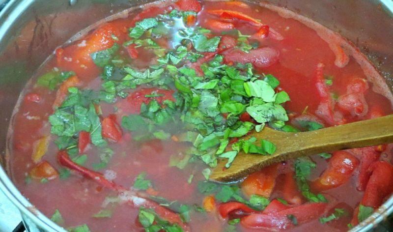 Лечо из болгарского перца на зиму по рецептам «Пальчики оближешь» этап 33