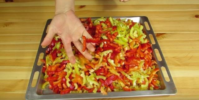 Лечо из болгарского перца на зиму по рецептам «Пальчики оближешь» этап 6