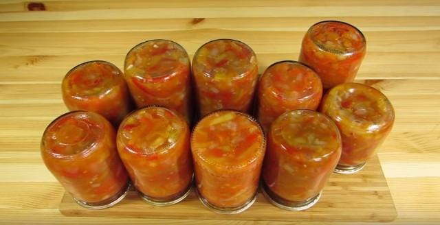 Лечо из болгарского перца на зиму по рецептам «Пальчики оближешь» этап 11