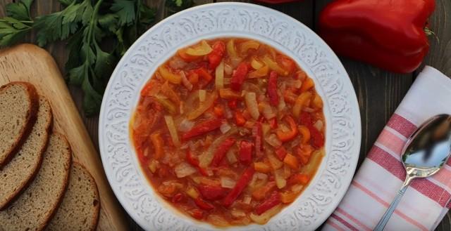 Лечо из болгарского перца на зиму по рецептам «Пальчики оближешь» этап 3
