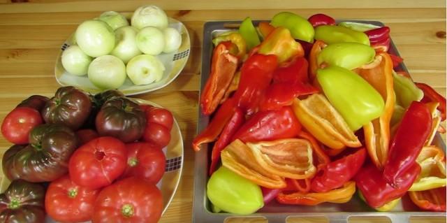 Лечо из болгарского перца на зиму по рецептам «Пальчики оближешь» этап 4