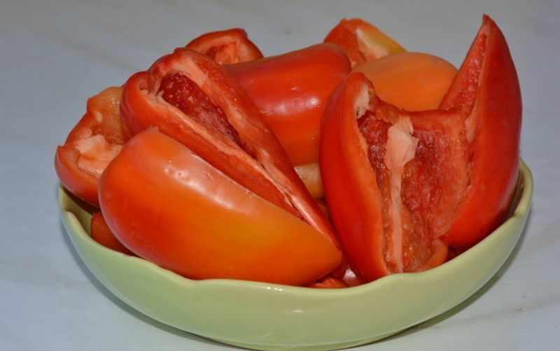Лечо из болгарского перца на зиму по рецептам «Пальчики оближешь» этап 36