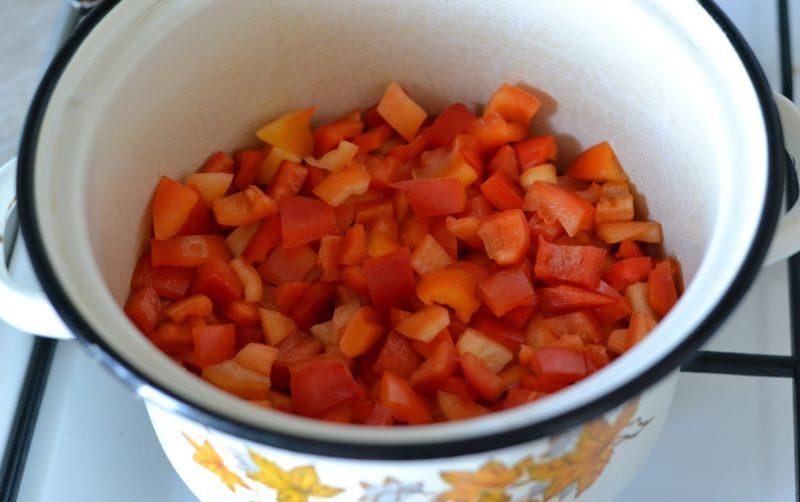 Лечо из болгарского перца на зиму по рецептам «Пальчики оближешь» этап 38