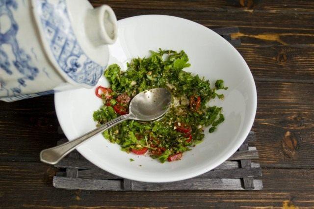 Помидоры по-корейски: самые вкусные рецепты быстрого приготовления этап 16