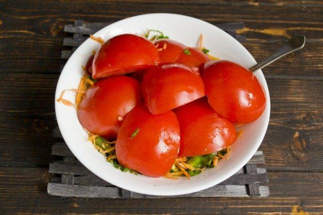 Помидоры по-корейски: самые вкусные рецепты быстрого приготовления этап 19