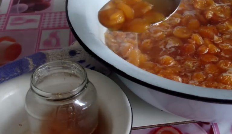 Варенье из абрикосов — 8 рецептов абрикосового варенья дольками этап 8