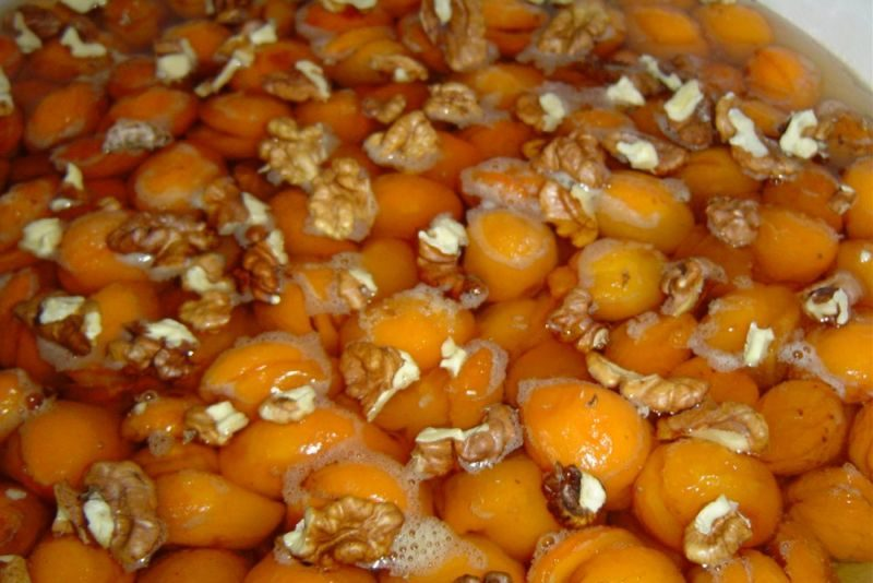 Варенье из абрикосов — 8 рецептов абрикосового варенья дольками этап 19
