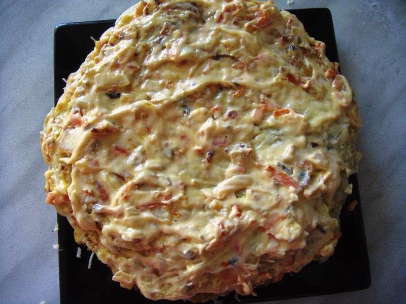 Торт из кабачков — 8 рецептов вкуснейшего кабачкового торта этап 21