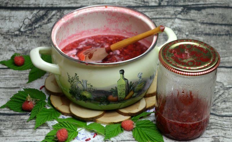 Варенье из малины на зиму. Топ 8 рецептов приготовления малинового варенья этап 19