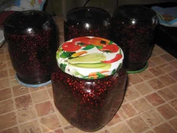 Варенье из малины на зиму. Топ 8 рецептов приготовления малинового варенья этап 11