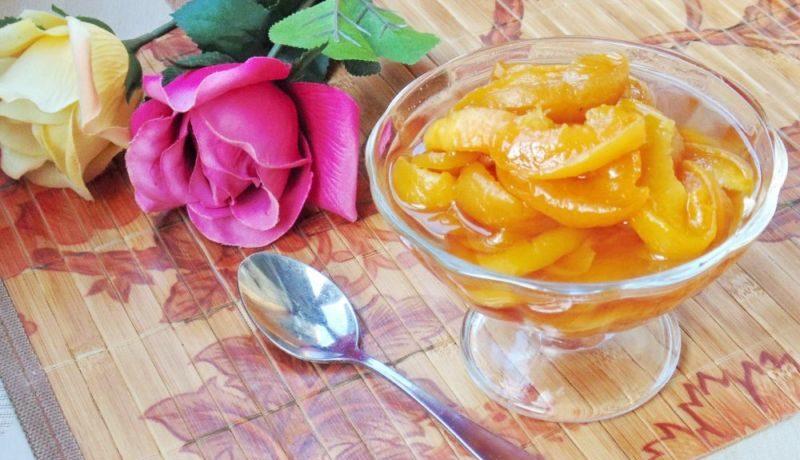 Варенье из персиков — 8 простых рецептов персикового варенья на зиму этап 19