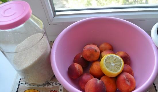 Варенье из персиков — 8 простых рецептов персикового варенья на зиму этап 3