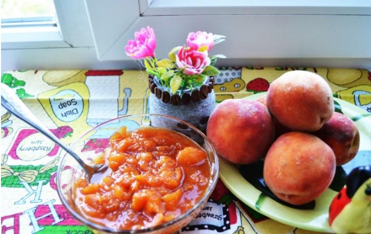 Варенье из персиков — 8 простых рецептов персикового варенья на зиму этап 2