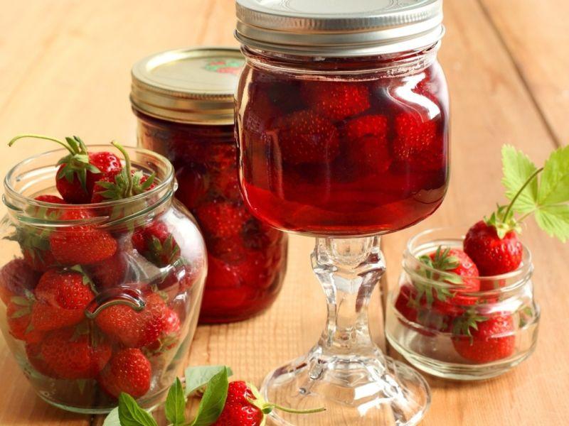Как варить варенье из виктории, чтобы ягоды были целыми? этап 7