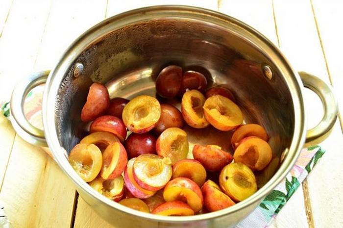 Варенье из сливы без косточек. Простые рецепты приготовления на зиму этап 35