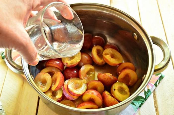 Варенье из сливы без косточек. Простые рецепты приготовления на зиму этап 36