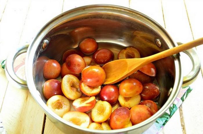 Варенье из сливы без косточек. Простые рецепты приготовления на зиму этап 37