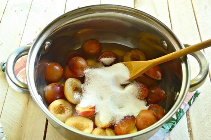 Варенье из сливы без косточек. Простые рецепты приготовления на зиму этап 38