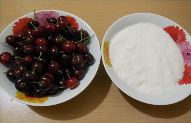 Варенье из вишни без косточек на зиму этап 2