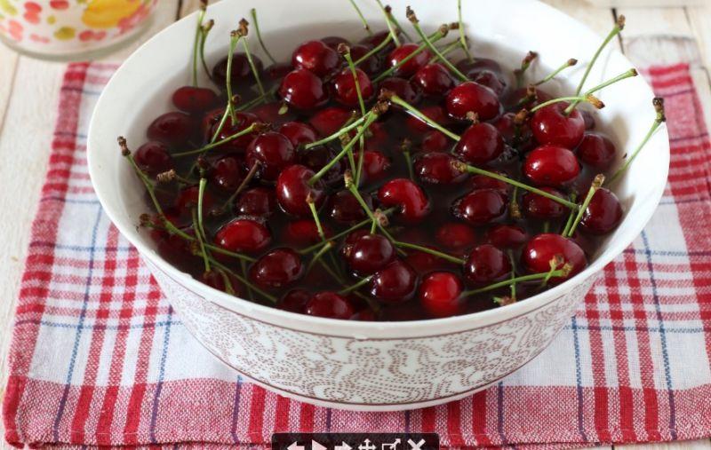 Варенье из вишни без косточек на зиму этап 36