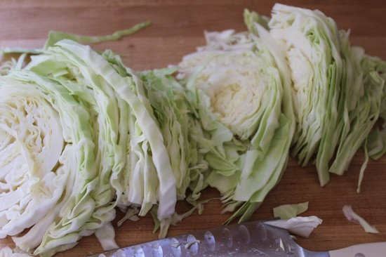 Салат из капусты на зиму — очень вкусные рецепты в банке этап 2
