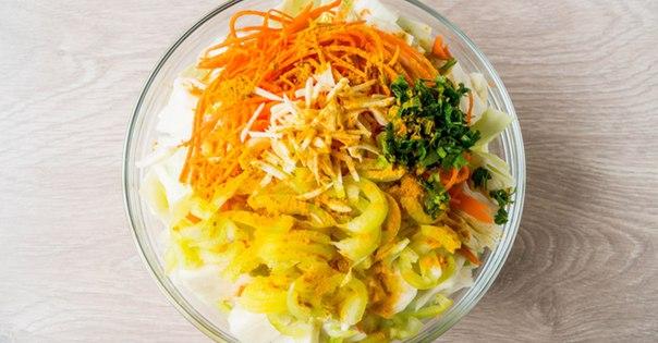 Капуста по-корейски на зиму в банках: 9 самых вкусных рецептов этап 30