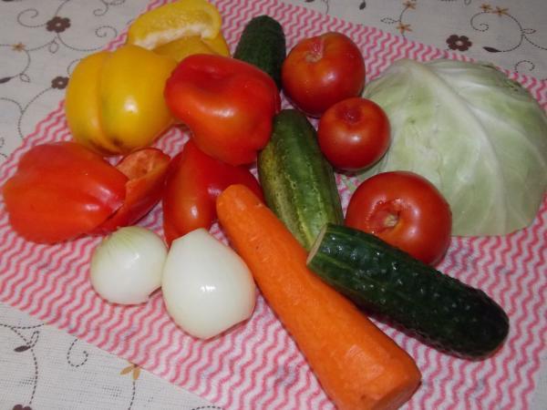 Салат из капусты на зиму — очень вкусные рецепты в банке этап 20