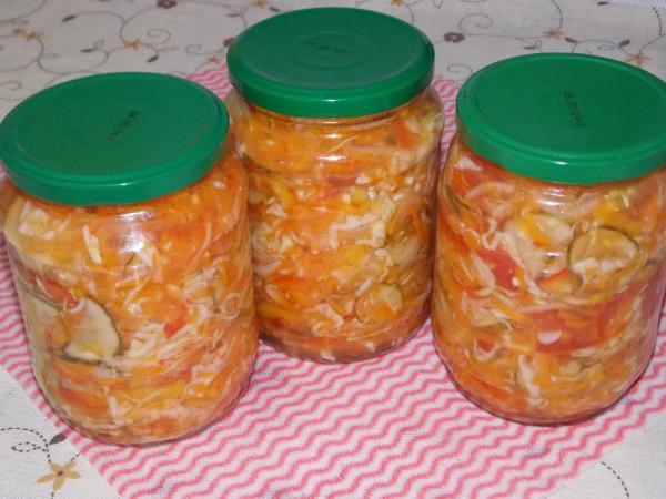 Салат из капусты на зиму — очень вкусные рецепты в банке этап 30